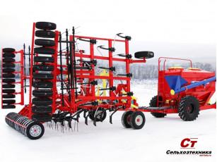 Посевной комплекс AGRATOR ANCER 11000 для нулевой технологии