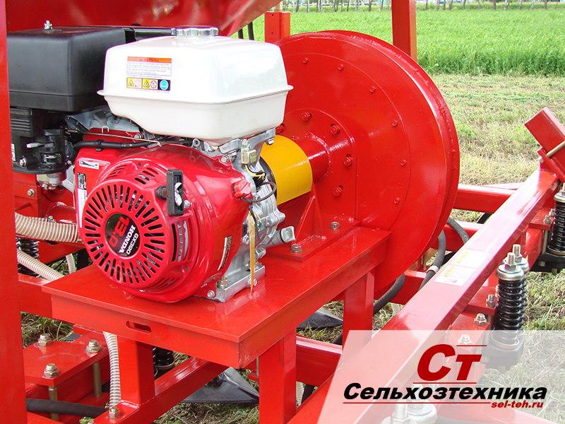 Автономный привод вентилятора - посевной комплекс агратор