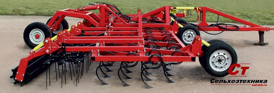 Культиватор для сплошной обработки почвы Классикмастер производство Агромастер