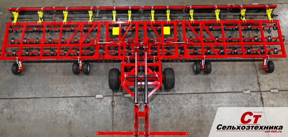 Культиватор сплошной обработки тайлермастер  - 11 метров